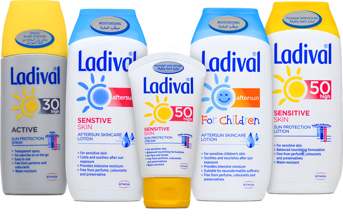 Ladival Sunscreen Products